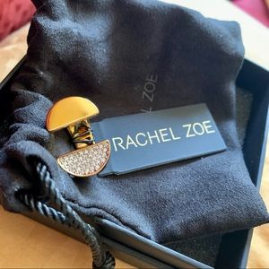 Limited Release Rare Rachel Zoe Open Diamanté Ring
